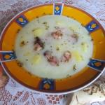 Zupa chrzanowa z ziemniak...