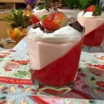 Deser truskawkowy z bita ...