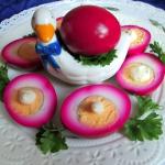 Jajka z czerwonej...