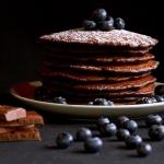 Czekoladowe pancakes z...