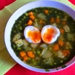 Zielona zupa