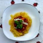 Dyniowe spaghetti z sosem...