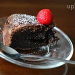 Ciasto z gorzka czekolada...