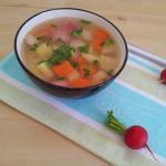 Wiosenna zupa jarzynowa