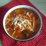 Wloska zupa z baklazanow ...