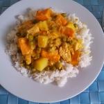 Curry z kurczakiem, socze...
