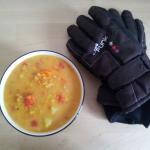 Pozywna zupa z soczewica