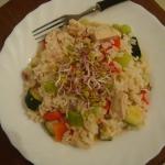 Ryz z warzywami i kurczak...