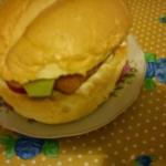 Rybny burger, czyli  mam...