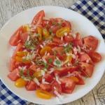 Salatka z pomidorow