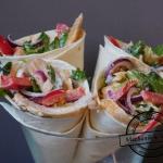 Sałatka a la kebab