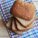 Chleb z maszyny z mąki...