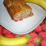 Bananowo - truskawkowe...
