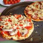 Pizza na  oszukanym ...