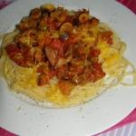 Spaghetti z bakłażanem...
