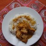 Rybne curry na ostro :)