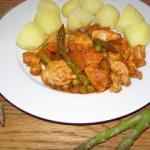 Kurczak i szparagi -...