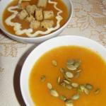 Zupa z dyni piżmowej :)
