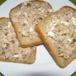 Pasta z tuńczyka :)