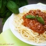 Spaghetti pomidorowe z...