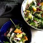 Salatka z radicchio, fenk...