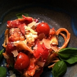 Makaron  z pomidorami pie...