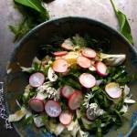 Salatka z fenkula i czosn...