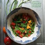 Ciepla salatka z zielonyc...