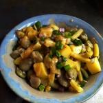 Salatka z bobu, fasolki i...