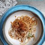 Spaghetti z sosem z piecz...