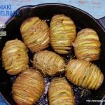 Ziemniaki Hasselback z cz...