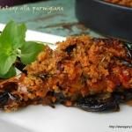 Baklazany alla parmigiana...