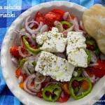 Grecka salatka Horiatiki