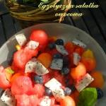 Egzotyczna salatka owocow...
