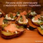 Pieczone skorki ziemniacz...