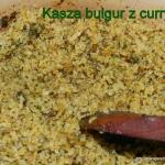 Kasza bulgur z curry