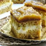 Ciasto mango i kremem...