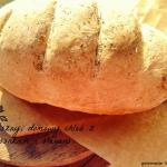 Domowy chleb z czosnkiem ...