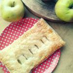 Karmelizowane jablka we f...