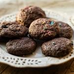 Ciasteczka mocno kakaowe ...