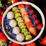 Pudding chia z jagód...