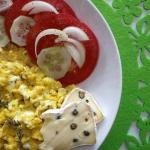 Jajecznica z tymiankiem