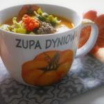 Zupa dyniowa z porem,...