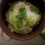 Mizeria z cebulą