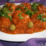 Klopsy w sosie pomidorowo...