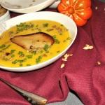 Zupa dyniowa z gruszką