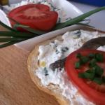 Pasta serowa z sardelami