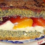 Finezyjne ciasto makowe