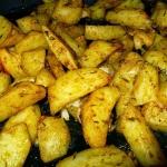 Ziemniaki pieczone.