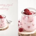 Domowy jogurt malinowy- 3...